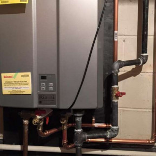 Tankless Water Heaters & Boilers